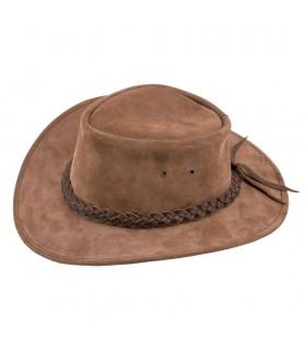 Brun chapeau de cow-boy de l'ouest sauvage