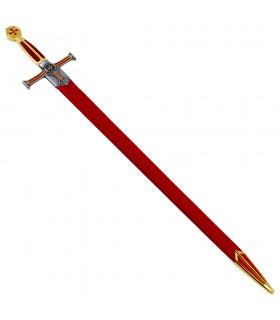 Des templiers à l'épée cadets, le poing en velours