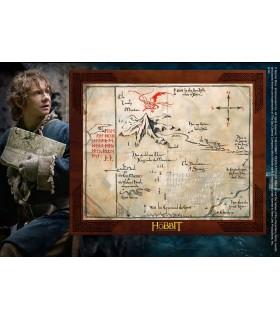 Boîte de Carte de Thorin écu de Chêne, le Hobbit