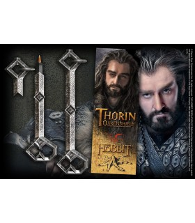 Stylo et Marque pages-clé de Thorin, bilbo Le Hobbit