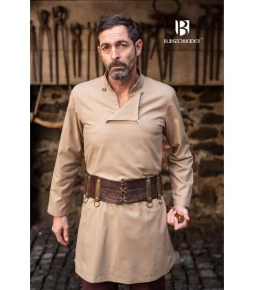 Tunique médiévale homme Einarr, chanvre