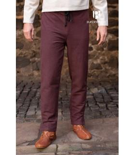 Pantalon médiéval Gunnar, brun