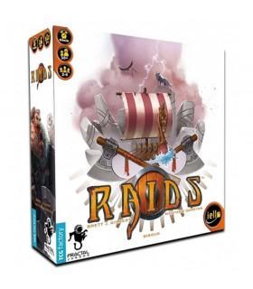 Jeu de plateau de Raids vikings (En espagnol)
