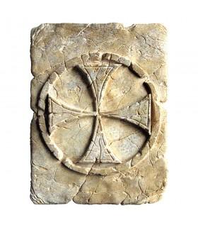 L'empreinte Historique de la Croix des Templiers, 20 x 15 cm