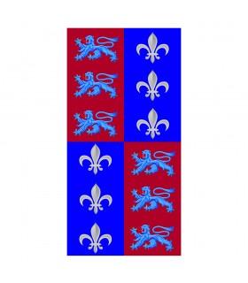 Bannière de Quartiers de les Lions de la Fleur de Lys