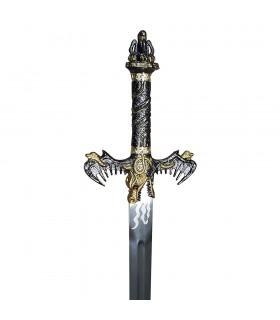 L'épée des Barbares, finition or