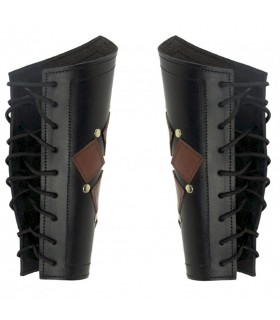 Bracelets, Médiévale Brun-Noir plat