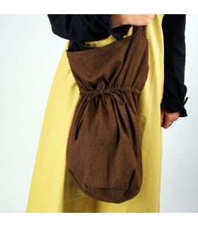 Messenger sac à main Leti brun