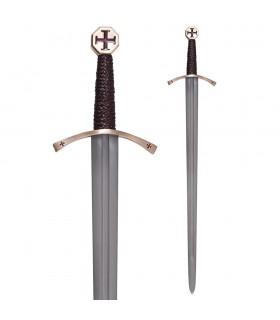 Épées Croisées, avec une gaine de cuir