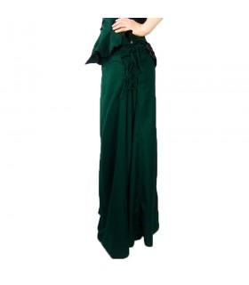Jupe modèle médiéval, Noita, couleur vert