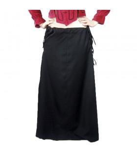 Jupe modèle médiéval, Noita, couleur noir