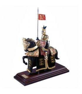 Les armures de chevaux quarter horse Dragon, Or et Bleu