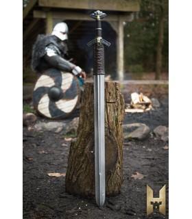 Épée viking Dreki de la série Château, en métal de couleur