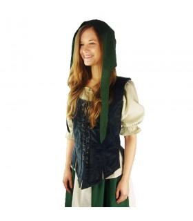 Crespina médiévale modèle féminin Alex, vert