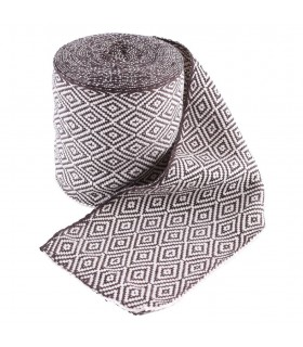 Chaussettes Filetée Vikings brun