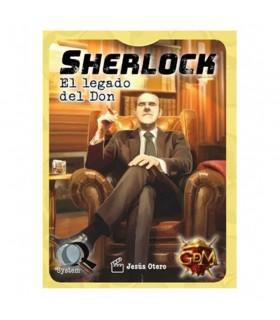 Jeu de société Sherlock l'Héritage du Don, en espagnol