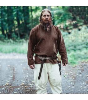 tunique Ivar Viking, brun foncé