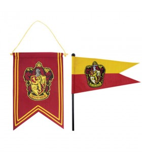 Bandera y estandarte Gryffindor de Harry Potter