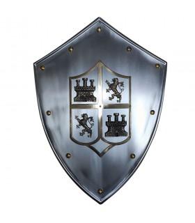 Medieval bouclier Castilla y León