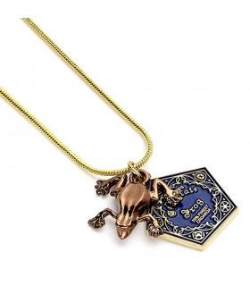 Pendentif Grenouille En Chocolat, Harry Potter