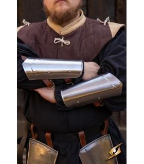 Bracelets, médiévale, Écuyer, finition polie