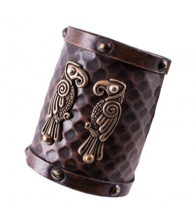 Bracelet Nordique corbeaux Hugin et Munin