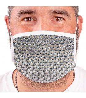 Masque Médiévale de cotte de mailles Réutilisables (pour les adultes)