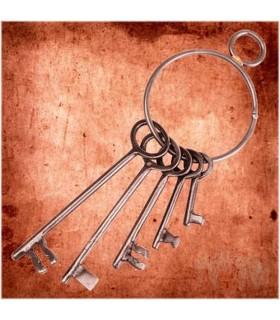 Jeu de clés pour le Donjon Médiéval