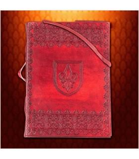 Journal médiévale fleur-de-Lis