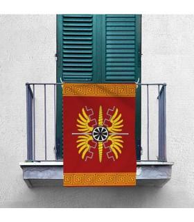 Bannière Romain pour l'intérieur et l'extérieur (70x100 cms.)