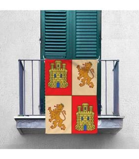 Bannière Médiévale de la région de Castille-et-León (70x100 cms.)