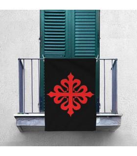 Bannière de la Croix, de l'Ordre de Calatrava (70x100 cms.)