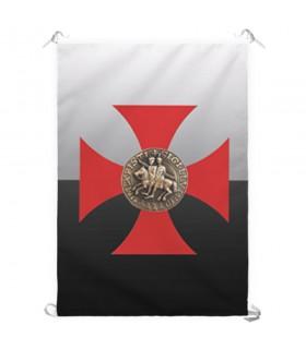 Bannière de la Croix-Templiers (70x100 cms.)