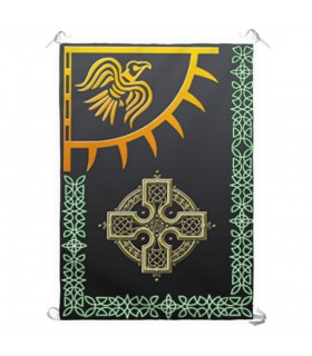 Bannière viking Merki Odin (70x100 cm.)