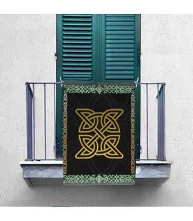Bannière Noeud Celtique (70x100 cms.)