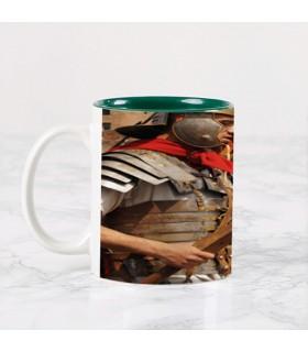 Tasse en céramique de Légionnaires Romains