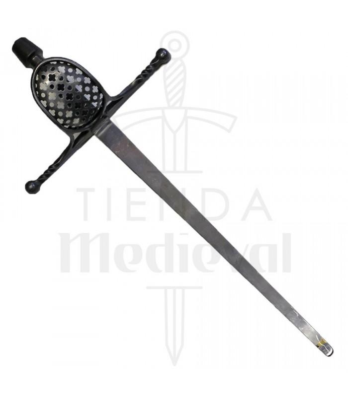 Dague médiévale de la main gauche fonctionnelle pour HEMA