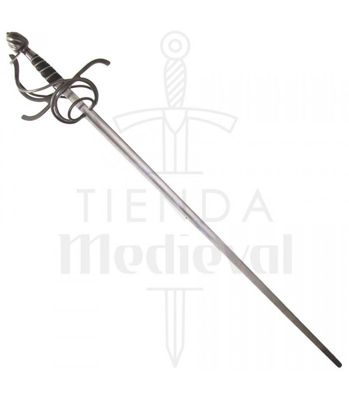 Épée Rapiera avec lame flexible et le conseil de sécurité pour les HEMA