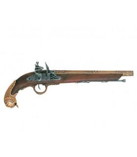 pistolet allemand, XVIII siècle