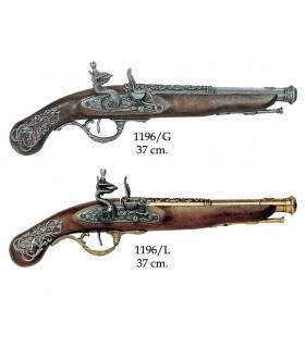 Anglais pistol, XVIII siècle