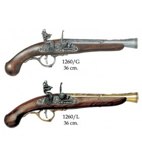 pistolet allemand, XVII siècle