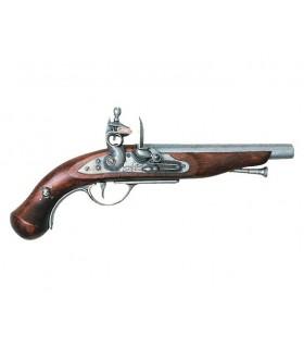 Français pirate pistolet, XVIII siècle