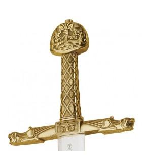 Épée de Charlemagne Bronze