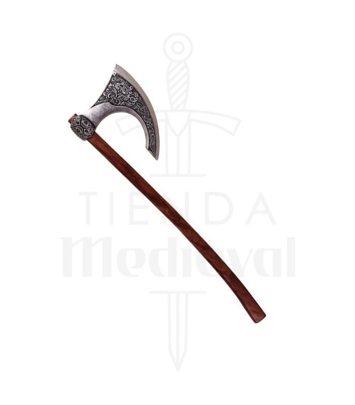 Viking hache. Scandinavie VIIIe siècle (87 cm.)