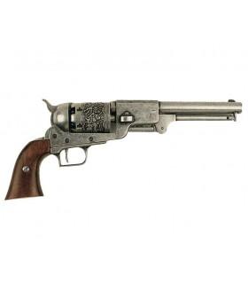 Dragoon revolver fabriqué par S. Colt, États-Unis 1848