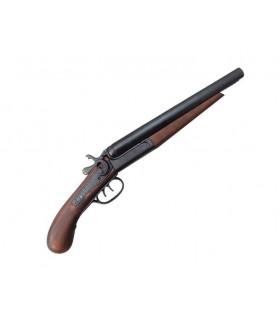 2 armes à feu à canon scié, USA 1881