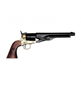 revolver de l'armée américaine de la guerre civile fabriqué par S. Colt 1860