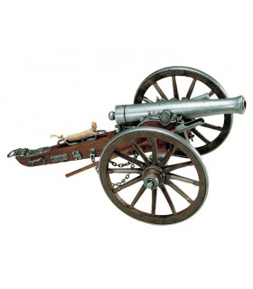 Cannon utilisé dans Civil War USA 1861