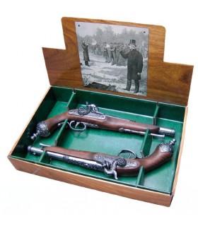 Septembre 2 pistolets de duel italien, 1825