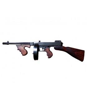 Thompson mitraillette utilisée par des gangsters, USA 1928